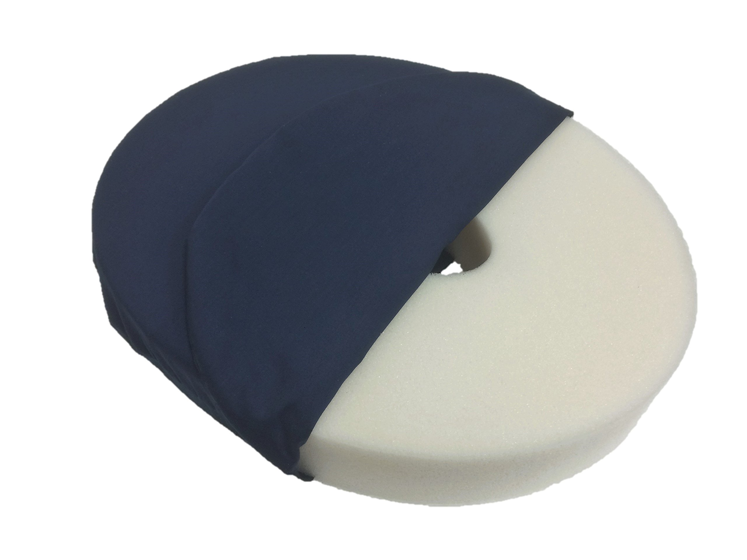 Geneva Healthcare 14'' Convoluted Foam Ring Cushion - 15'' x 13'' x 2.5'' - 8/CS
