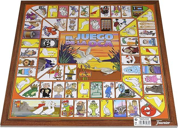 Fournier - Tablero Parchís/Oca y fichas, 40 x 40 cm, para 6 Jugadores (F29468): Amazon.es: Juguetes y juegos