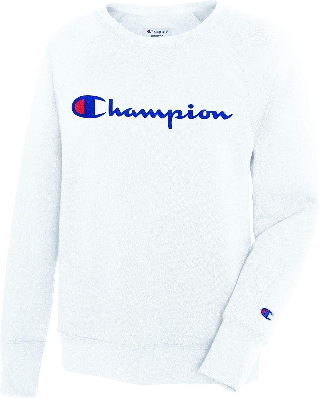 Champion Womens Fleece Boyfriend Crew