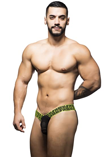 2c4093f4672ca Andrew Christian Fukr Collection Black Color Mesh Jock Underwear for Men:  Amazon.in: Clothing & Accessories