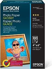 "Epson Photo Paper Glossy 4"" x 6"" 100s - Papel fotográfico (4"" x 6"")"