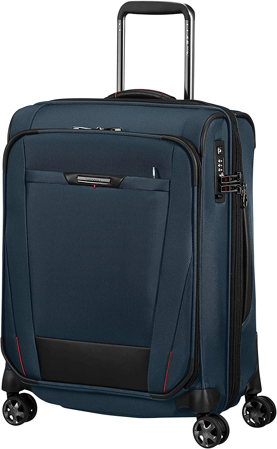 SAMSONITE Pro-DLX - Small Expandable Spinner Equipaje de Mano 55 Centimeters 51.5 Azul (Oxford Blue)