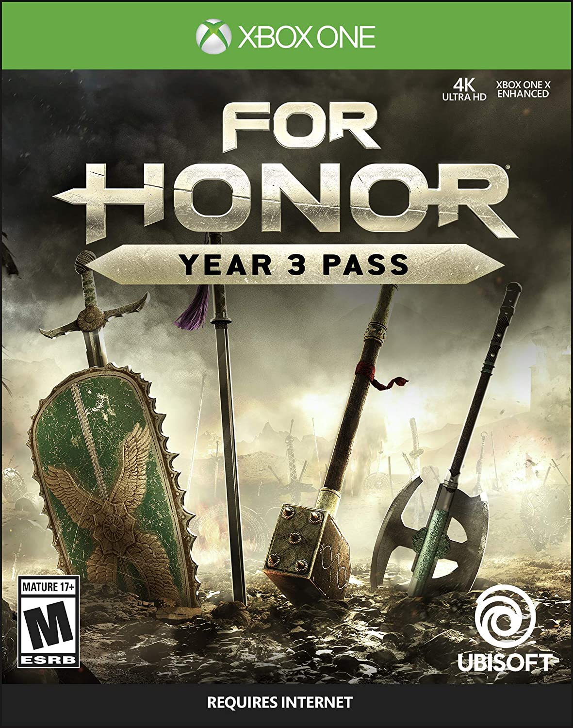Amazon com: For Honor Year 3 Pass - Xbox One [Digital Code