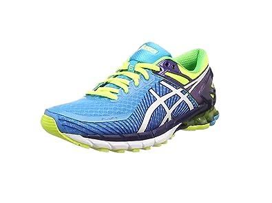 zapatillas de running de hombre asics gel kinsei 6 azul