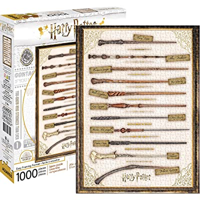 Harry Potter Wands 1,000pc Puzzle: Toys & Games