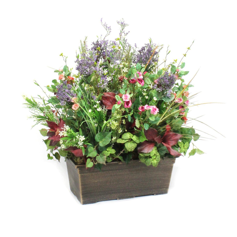 Dalmarko Designs co119 Wildflowers & Blossoms in Lightweight Window Box