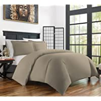 Zen Bamboo Ultra Soft 3-Piece Bamboo Derived Rayon Duvet Cover Set -?Hypoallergenic and Wrinkle Resistant - Twin/Twin XL…