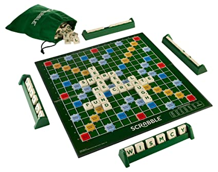 Mattel Scrabble Juego De Mesa En Ingles Scrabble Amazon Es
