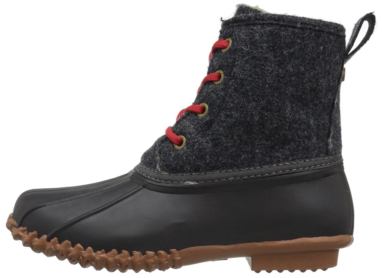 206 Collective Women's Rainier Duck Rain Boot B076125LZF 11 B(M) US|Black/Gray