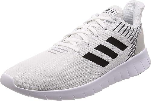 Adidas ASWEERUN, Zapatillas de Deporte para Hombre, Blanco (Ftwbla/Negbás/Gridos 000), 42 2/3 EU: Amazon.es: Zapatos y complementos