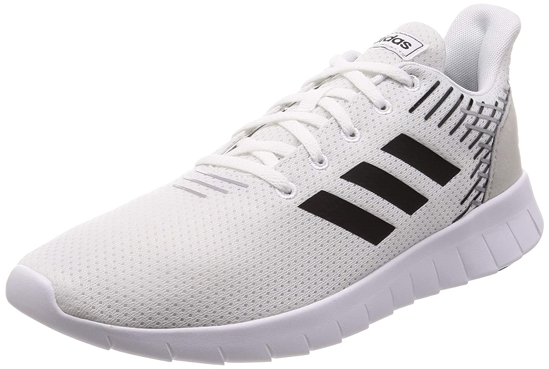 Adidas Asweerun, Chaussures de Fitness Homme Blanc (Ftw Bla Negbás Gridos 000) 43 1 3 EU