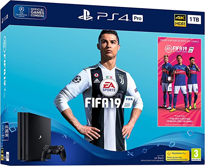 PlayStation 4 Pro (PS4) - Consola 1 TB + Fifa 19: Sony: Amazon.es: Videojuegos