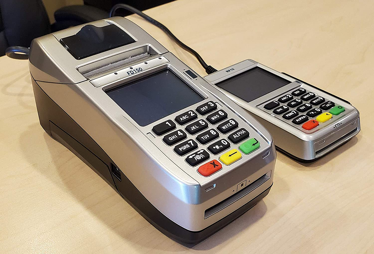 First Data FD150 EMV Credit Card Terminal and RP10 PIN Pad with IPayment 511 Encryption Bundle