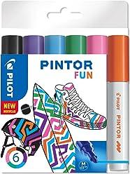 """PILOT PINTOR M - 6er Set """"Fun"""""""