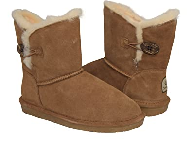 Women's Rosie Shearling Boots 1653-W Hickory