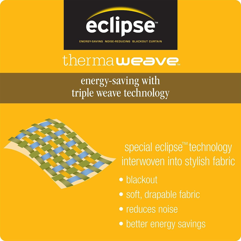 Eclipse Ella Cascade Blackout Window Valance Storm Blue 13270052018SMK