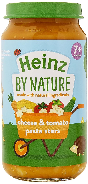 Heinz Mum's Own Cheesy Tomato Pasta Stars, 200 g (Pack of 6) The Kraft Heinz Company 76011346
