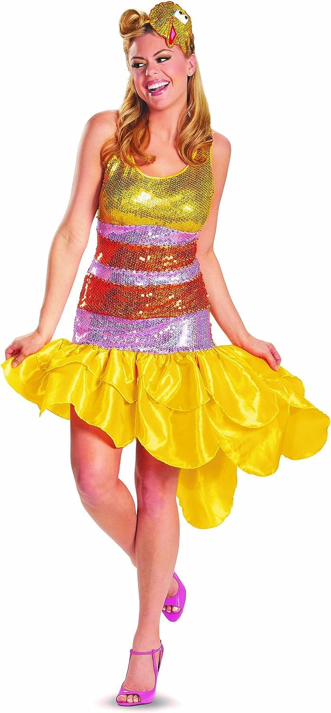 Disguise Vestido Disfraz de la Gallina Caponata Barrio Sésamo para ...