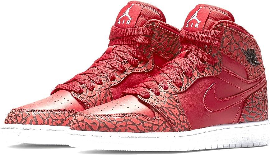 Nike Air Jordan 1 Retro Hi Prem Bg, Zapatillas de Baloncesto para ...