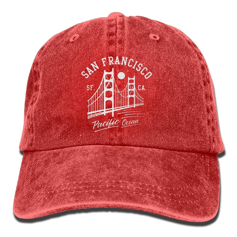 sdfgsdhffer San Francisco Golden Gate Bridge MN Denim Hat ...