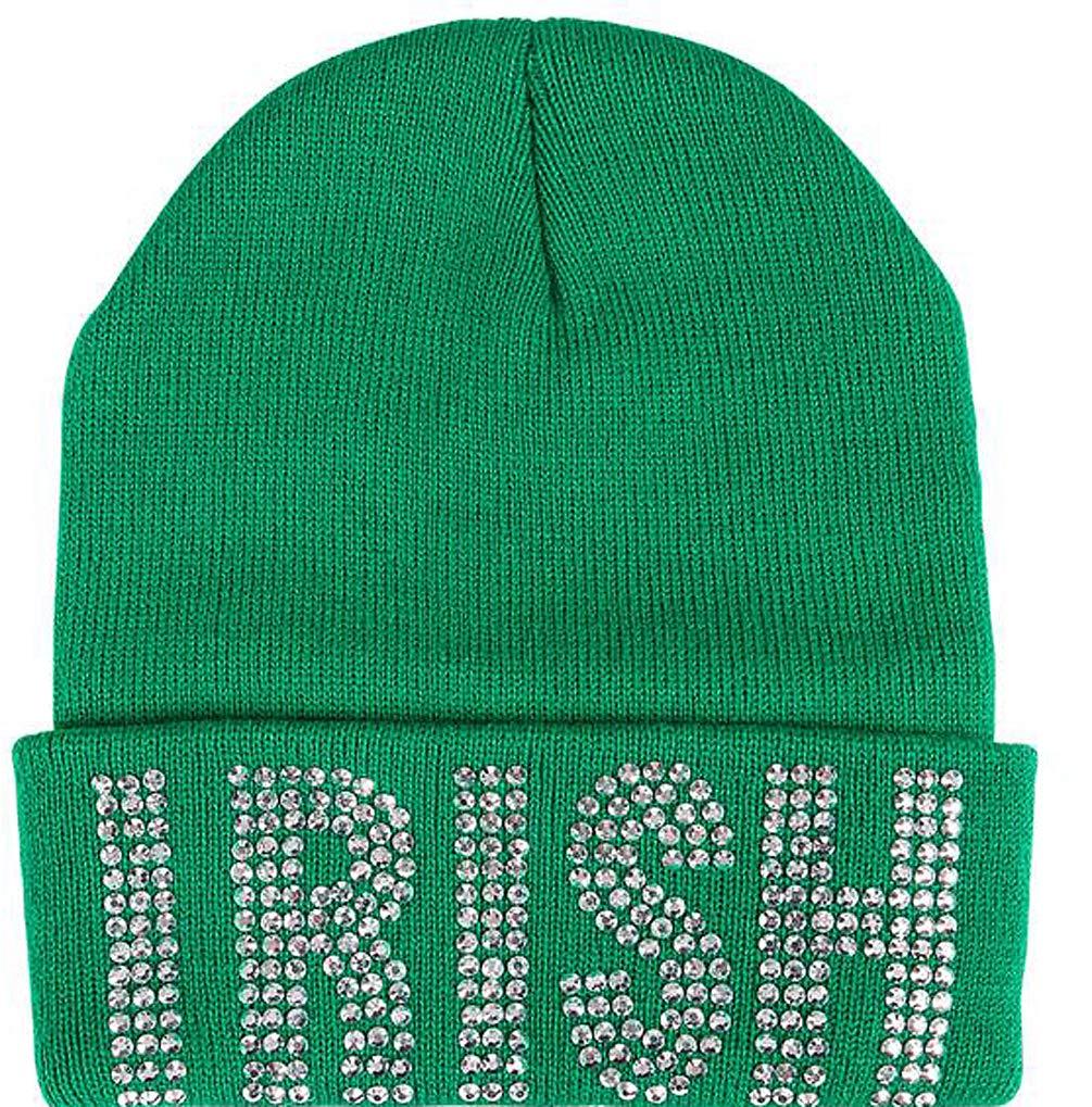 a3b169922ca RINCO St. Patrick s Day Irish Kelly Neon Crazy Green Shamrock Fedora ...