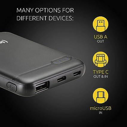 Intenso External Battery Power Bank Charger Black Elektronik
