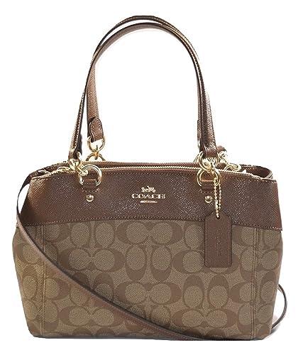 a3f3b9f1a7a1 Coach Womens Mini Brooke Carryall Handbag