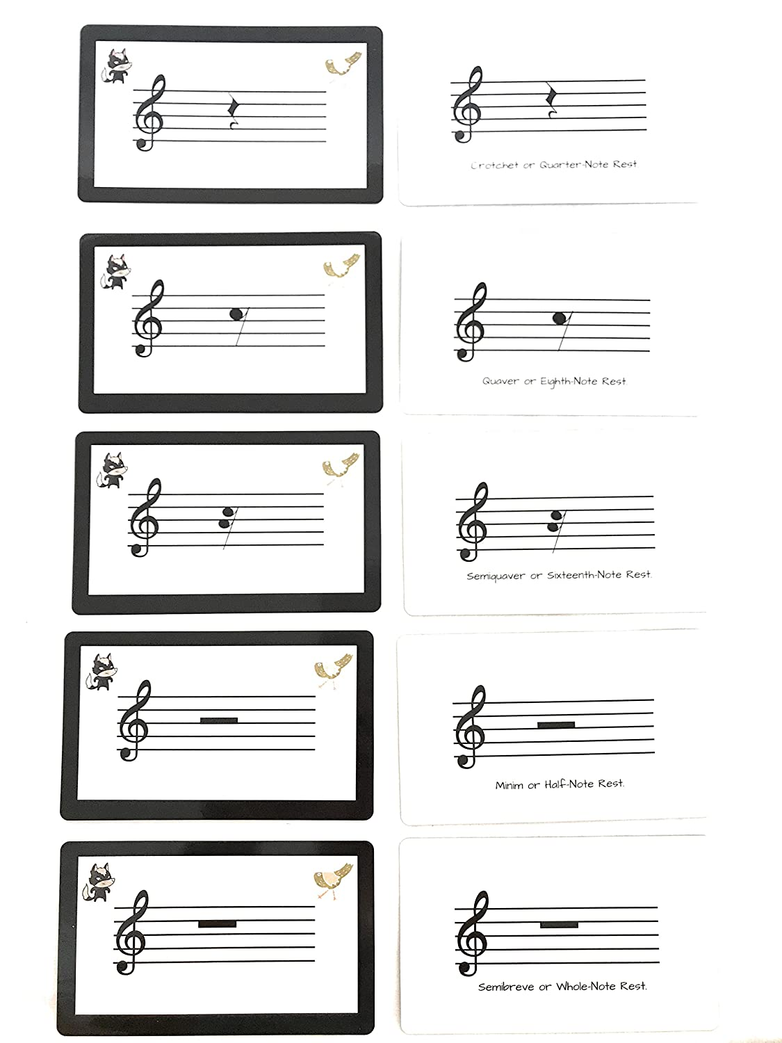 image about Piano Note Flashcards Printable named Tunes Flash Playing cards for Piano, 46 Enormous Dimensions (13cm x 8cm) Songs Flashcards United kingdom and United states of america terminology, Train your small children in the direction of examine new music, Study in direction of study audio