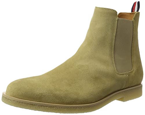 3889330407baf Tommy Hilfiger Men s W2285illiam 2b Chelsea Boots  Amazon.co.uk ...