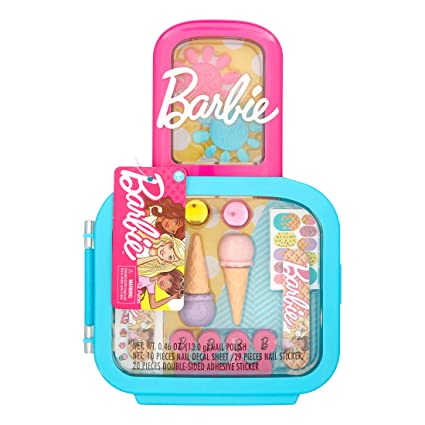 Amazon.com: Super Sweet Barbie Glamtastic Nail Case ...