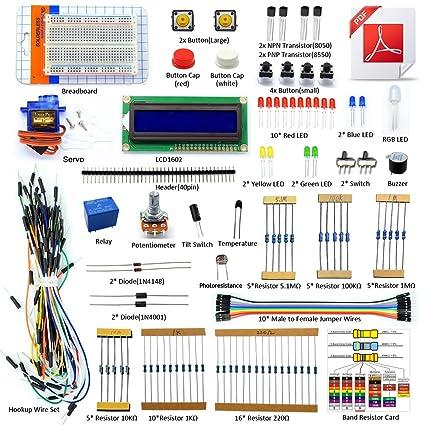 amazon com adeept project 1602 lcd starter kit for arduino uno r3 rh amazon com arduino uno manuel arduino uno manuale italiano