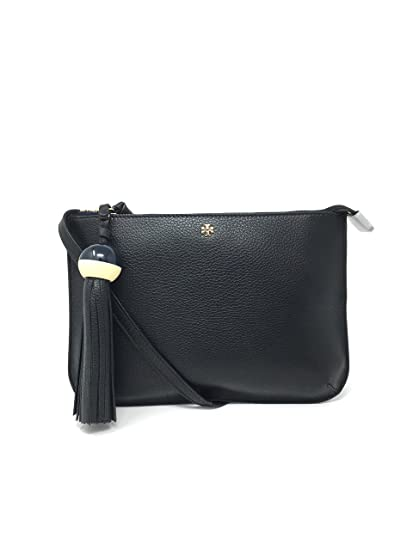 ede63075714 Tory Burch Tassel Cross Body Bag in Black Style 435070817  Amazon.in  Bags