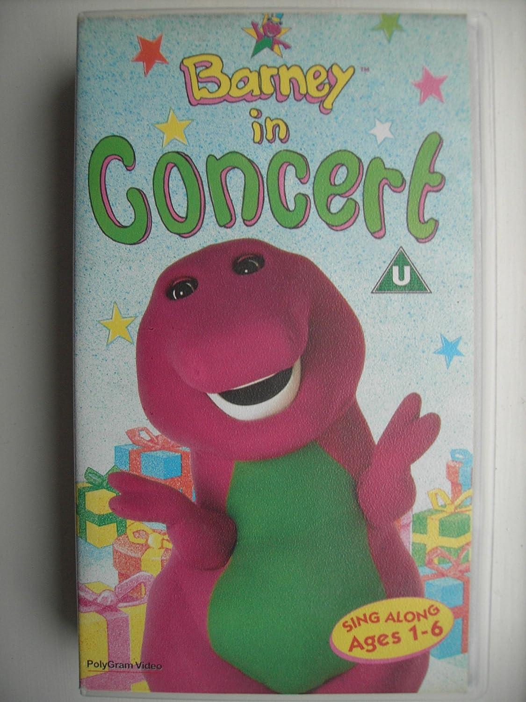 Barney Barney In Concert VHS Children Amazoncouk Video - Barney backyard gang concert vhs
