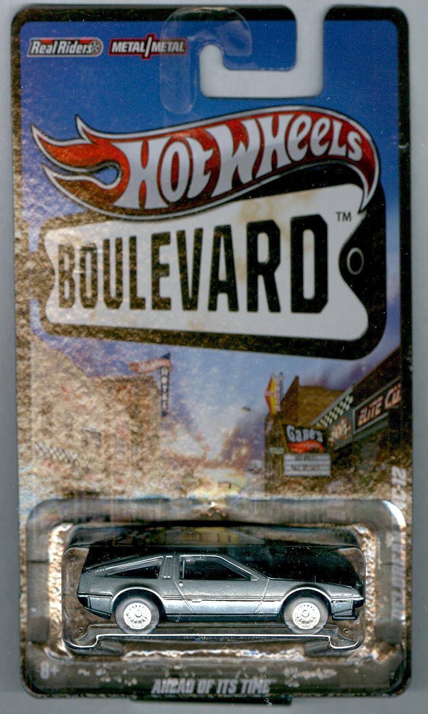 Hot Wheels Boulevard Ahead of It's Time DELOREAN DMC-12 1:64 Scale Mattel