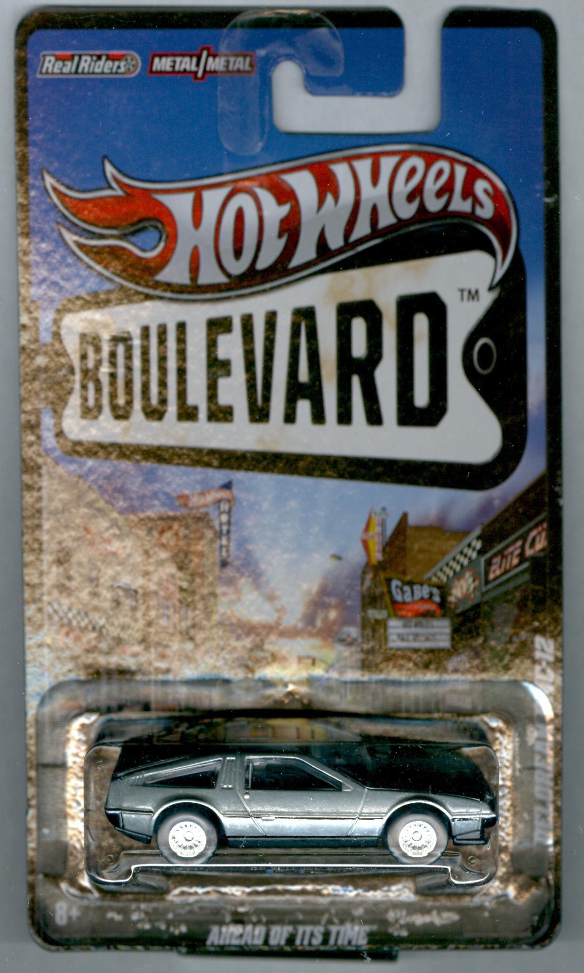 Mattel Hot Wheels Boulevard Ahead of It's Time Delorean DMC-12 1:64 Scale