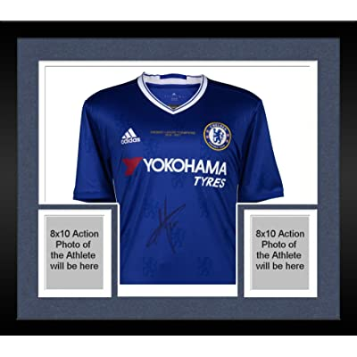 new product 51e76 12989 Framed Eden Hazard Chelsea Autographed 2014-2015 Champions ...