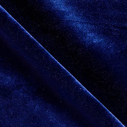 Amazon Com Upholstery Velvet Royal Blue Drapery And Upholstery Fabric