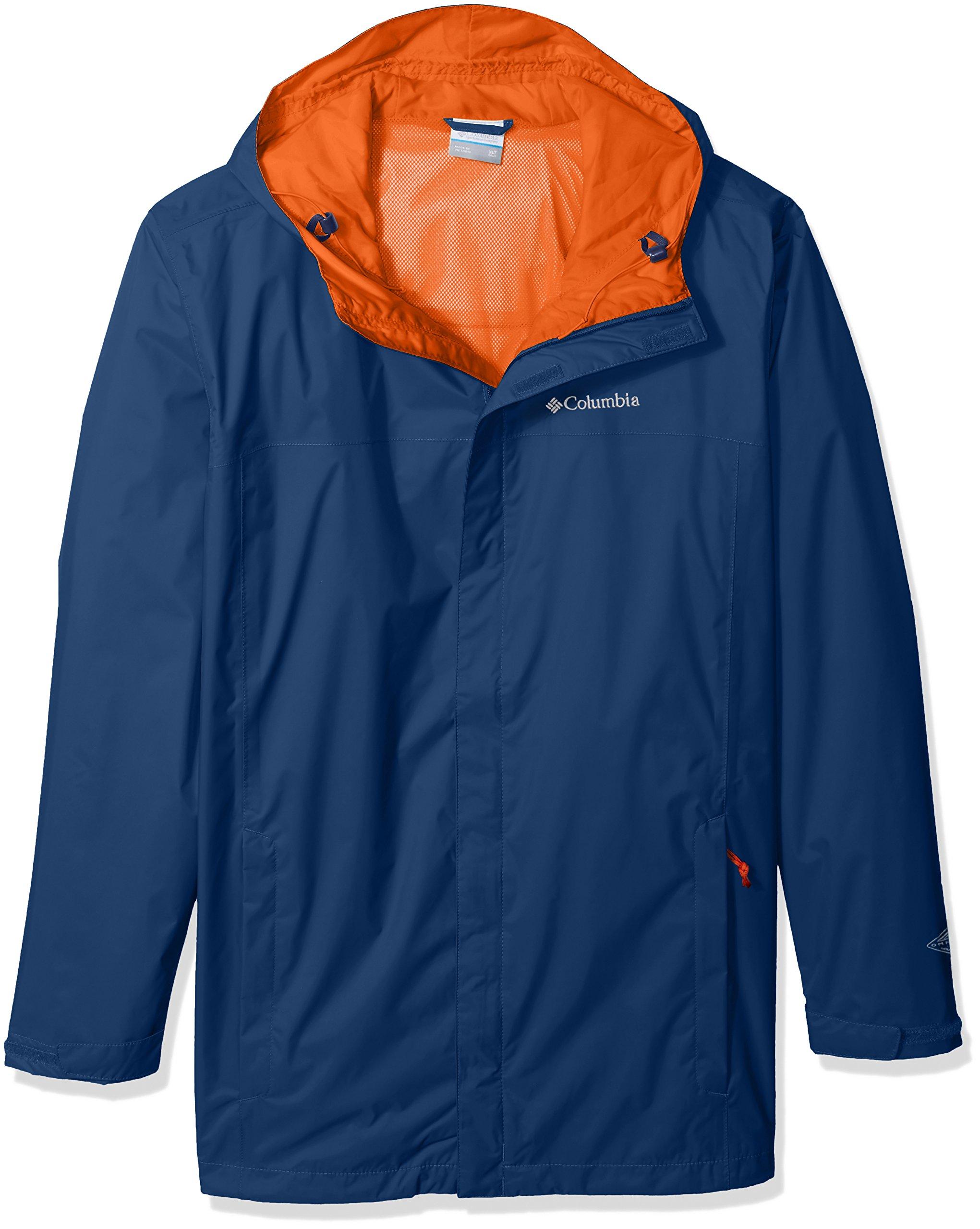 Columbia Men's Big and Tall Watertight Ii Big & Tall Jacket, Carbon 3X