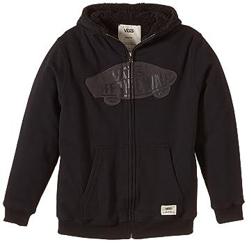 Vans Hoodie B Hessel Boys - Sudadera con capucha para niños, color Negro, talla L: Amazon.es: Deportes y aire libre