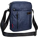COSMUS Polyester Navy Blue Sling & Cross-Body Bag For Unisex