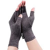 Digitek Guantes reumatoides de compresión sin dedos para aliviar el dolor - Guante de mano Rehabilitación Aliviar el…