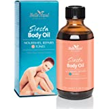 Belle Azul Siesta Body Oil – Huile Corps 100% Naturelle. Hydratante, Raffermissante, Tonifiante. Idéale en massage – Vegan – 100ml