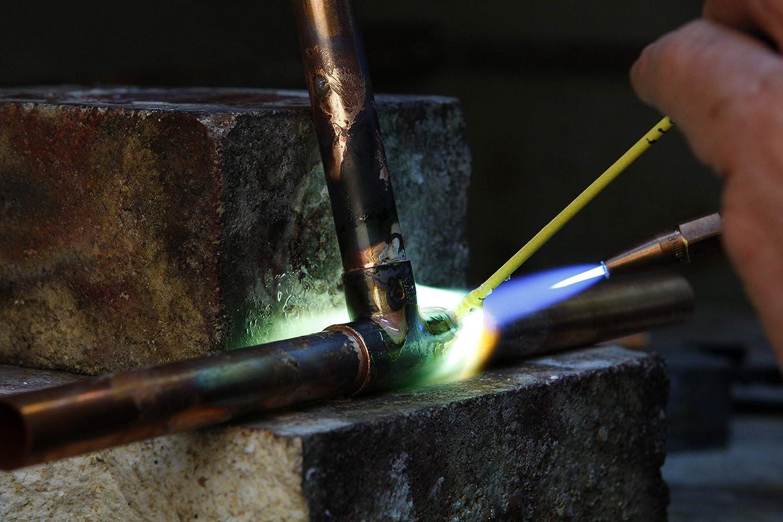 2 Stück Silberlotstäbe Silberlot 55 Borsäurefrei Flussmittelumhüllt At 650 C Abm 1 5 X 250 Mm Baumarkt