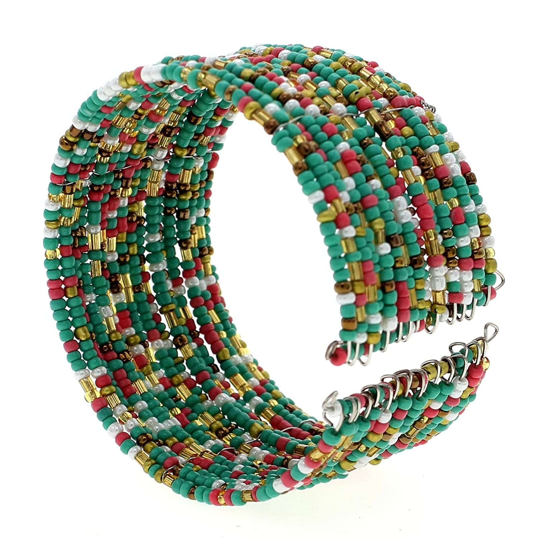 Couleurs de larc VANKER Charme Boh/ême Perles Multicouche Bracelet Mode Bijoux Femmes