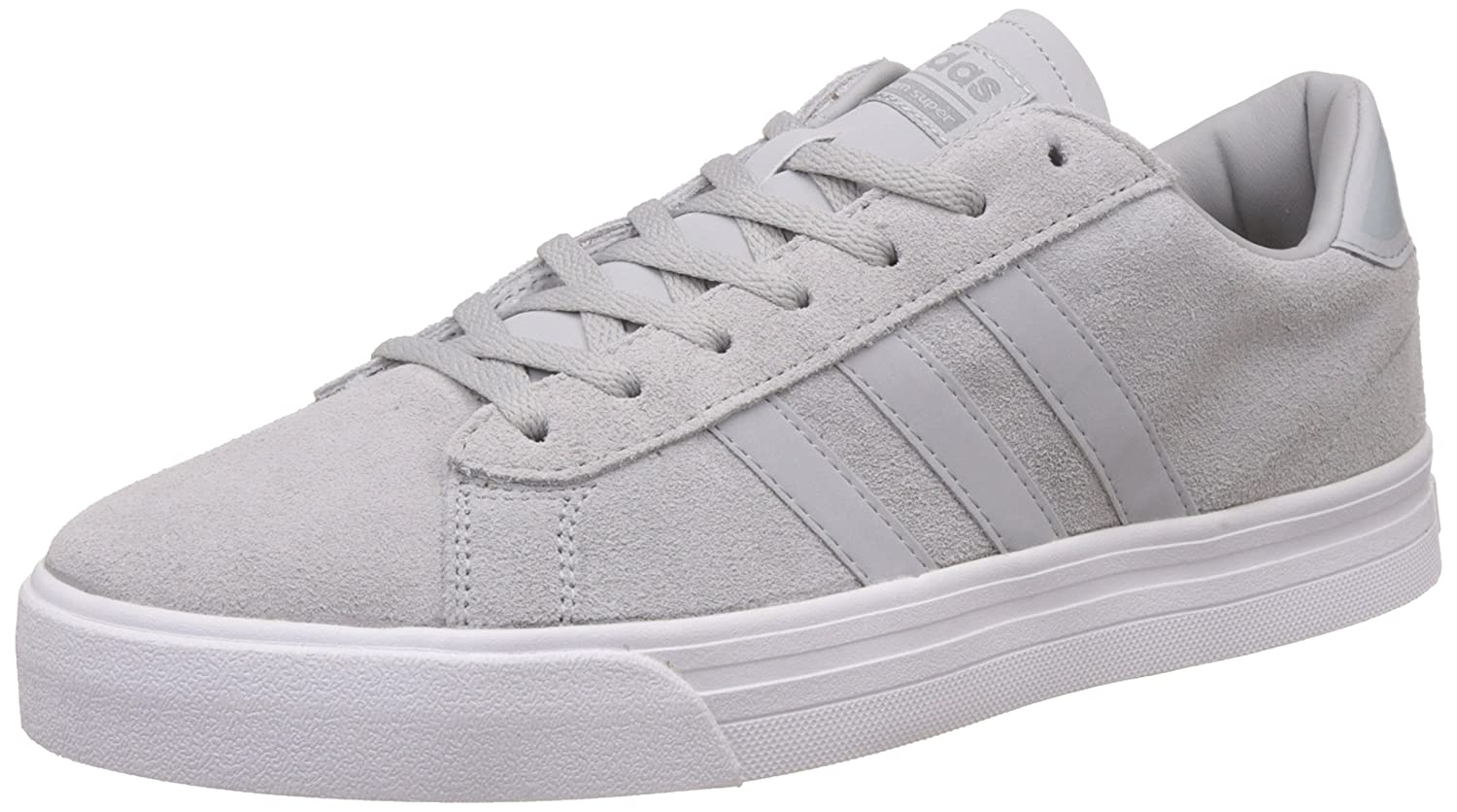 adidas neo Men s Cloudfoam Super Daily Clonix and Grey Leather Sneakers - 8  UK India (42 EU)  Buy Online at Low Prices in India - Amazon.in a77a345f4