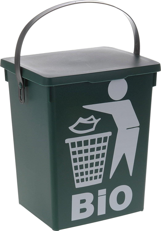 hibuy Küchen Komposteimer für Küchenabfälle Bio Grün