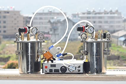 b7cc28b3f1 Amazon.com: AB glue dispensing machine 1:1 valve pressure tank (3 L ...