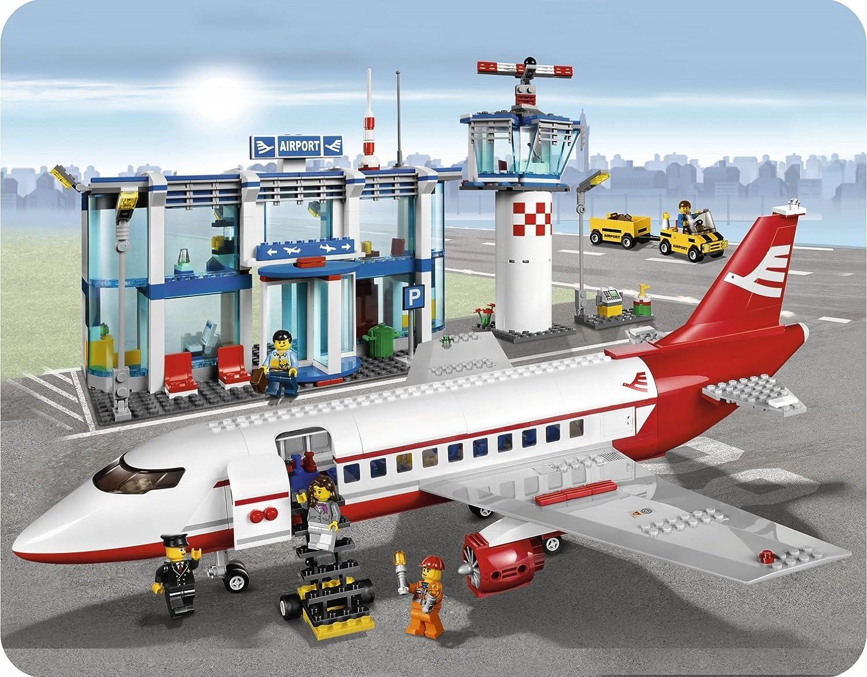 Aeroporto Lego : Amazon lego city airport toys games