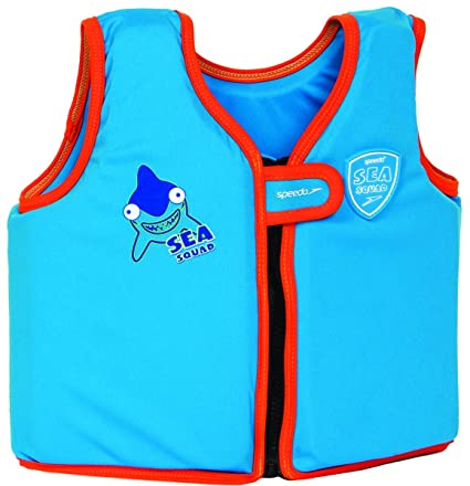 Speedo Junior, Flotador chaleco infantil, Talla 1-2 años, Azul 5588