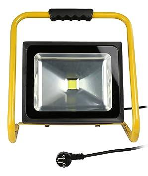 Elexity Projecteur LED 50W Chantier IP65 CE Amazon Bricolage